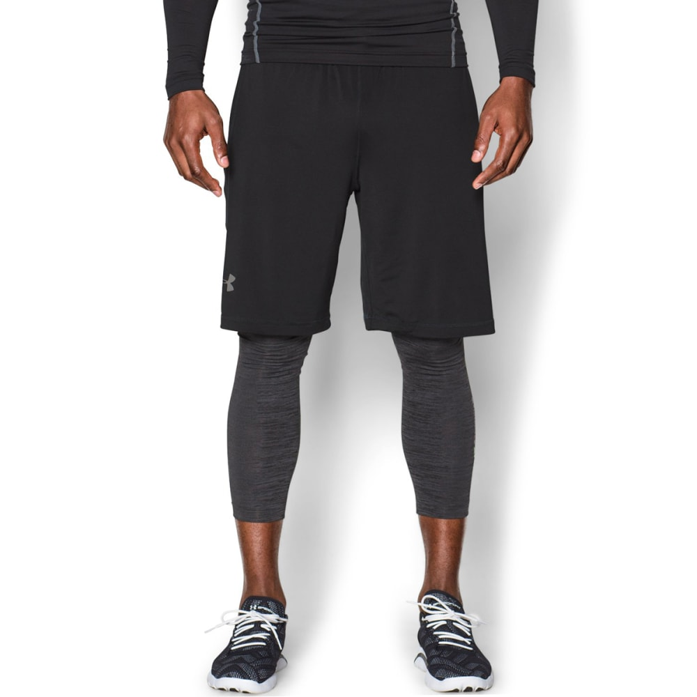 UNDER ARMOUR Men's ColdGear® Armour Twist Leggings - STEALTH-008