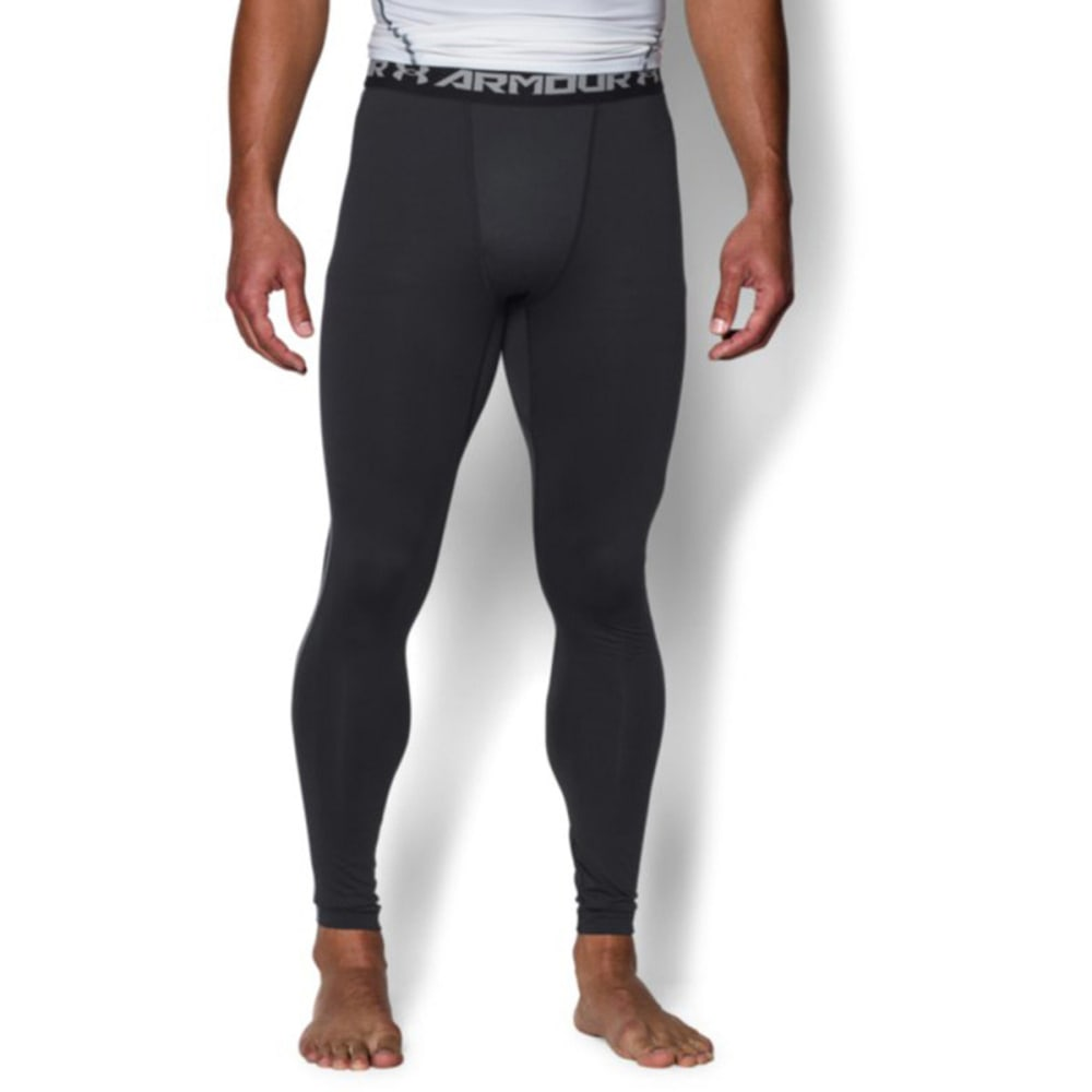 UNDER ARMOUR Men's ColdGear Armour Compression Leggings - BLACK-001