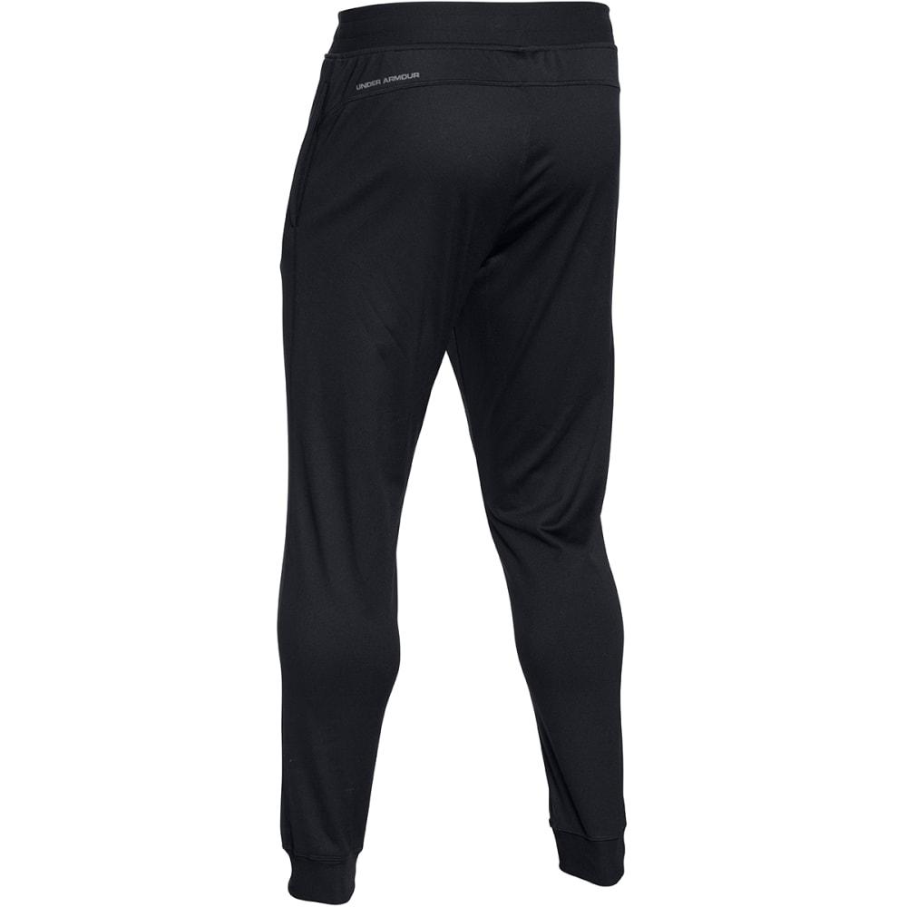 UNDER ARMOUR Men's Sportstyle Jogger Pants - BLACK HEATHER-001