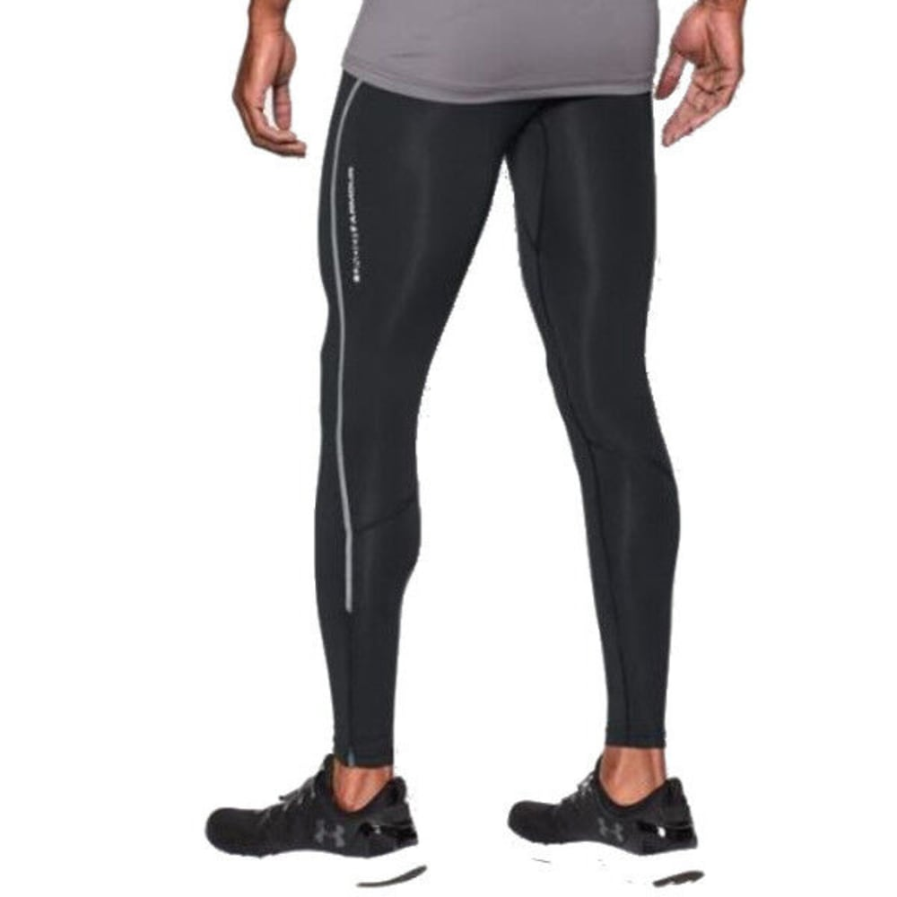 UNDER ARMOUR Men's CoolSwitch Compression Leggings - BLACK-001