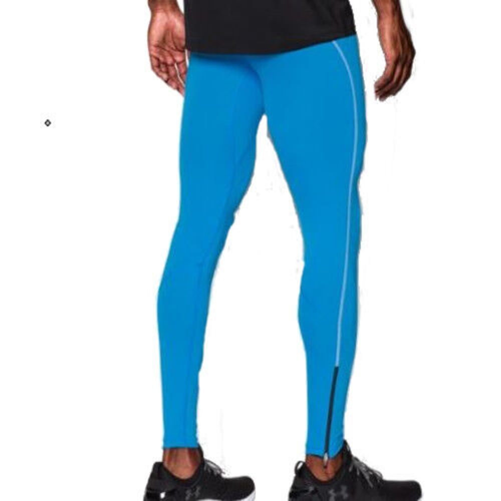 UNDER ARMOUR Men's CoolSwitch Compression Leggings - ELECTRIC BLUE-428