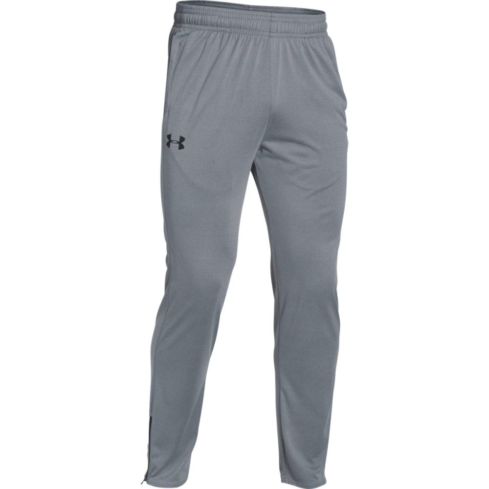 UNDER ARMOUR Men's Tech Pants - STEEL/BLACK-035