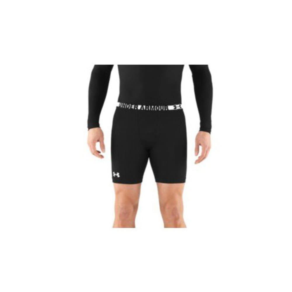 UNDER ARMOUR Men's HeatGear® Sonic Compression Shorts - BLACK/WHITE