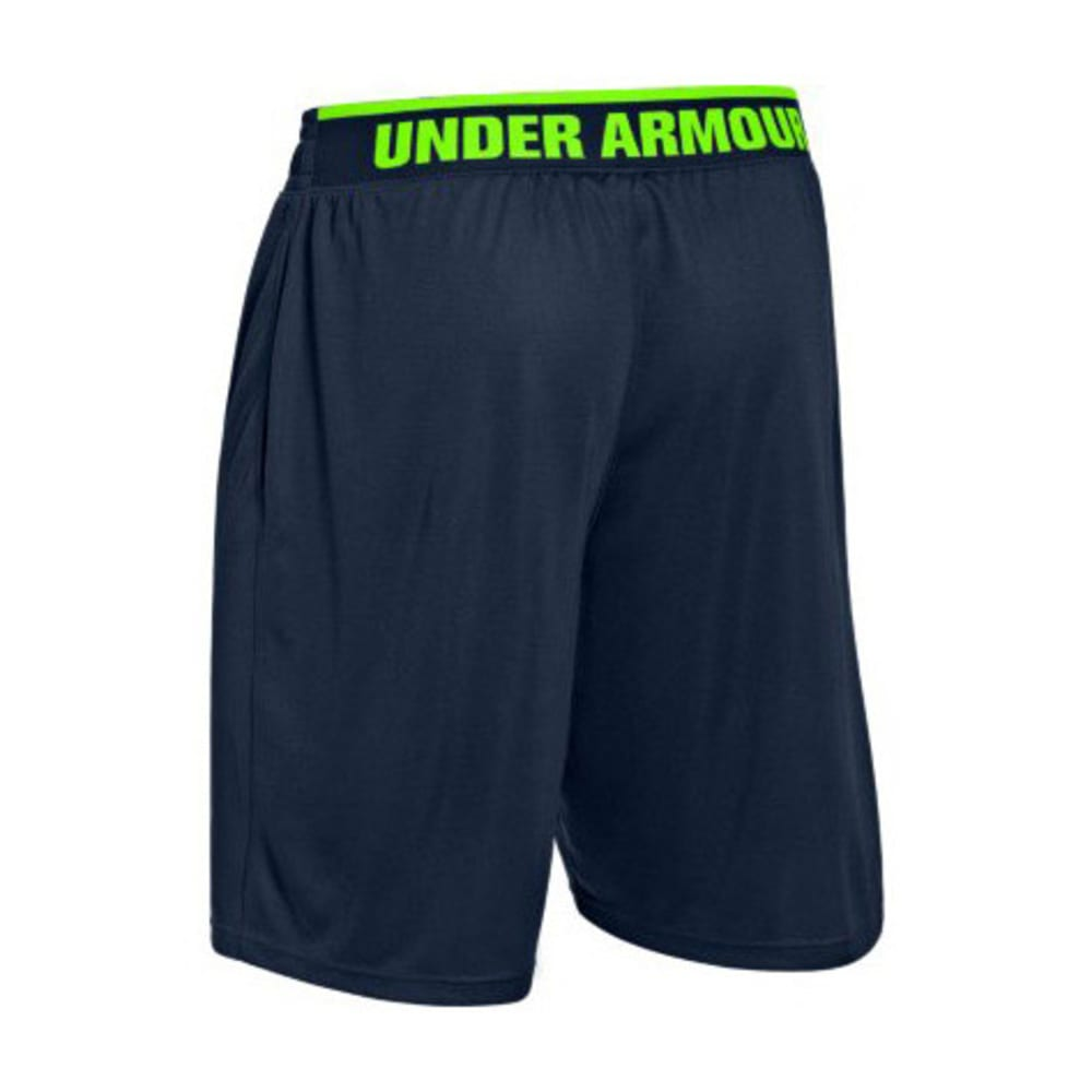 UNDER ARMOUR Men's Reflex 10 in. Shorts - ANCHOR BLUE