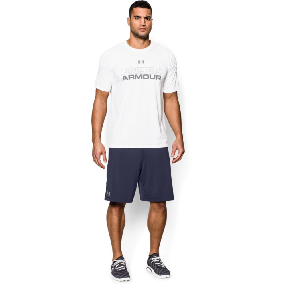 UNDER ARMOUR Men's Raid Shorts - MIDNIGHT NAVY-410