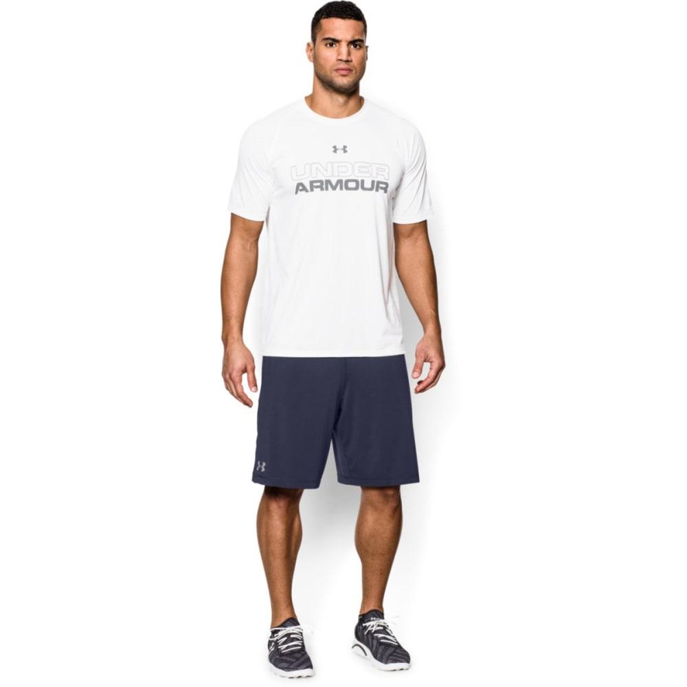 UNDER ARMOUR Men's Raid Shorts - MIDNIGHT NAVY-410