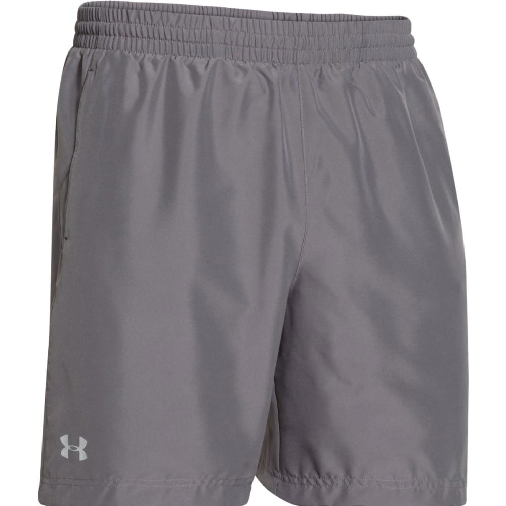 "UNDER ARMOUR Men's Launch 7"" Run Shorts - GRAPHITE-040"