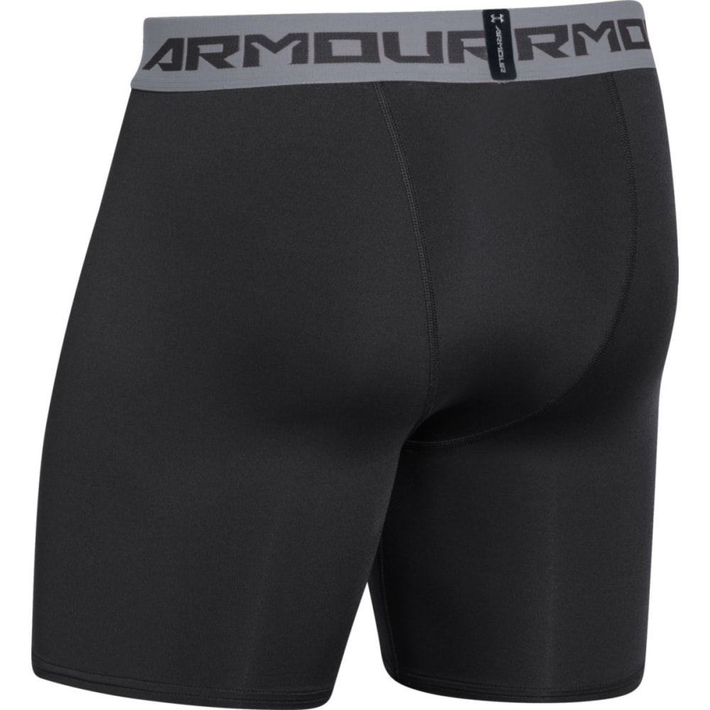 UNDER ARMOUR Men's HeatGear® Armour Compression Shorts - BLACK-001