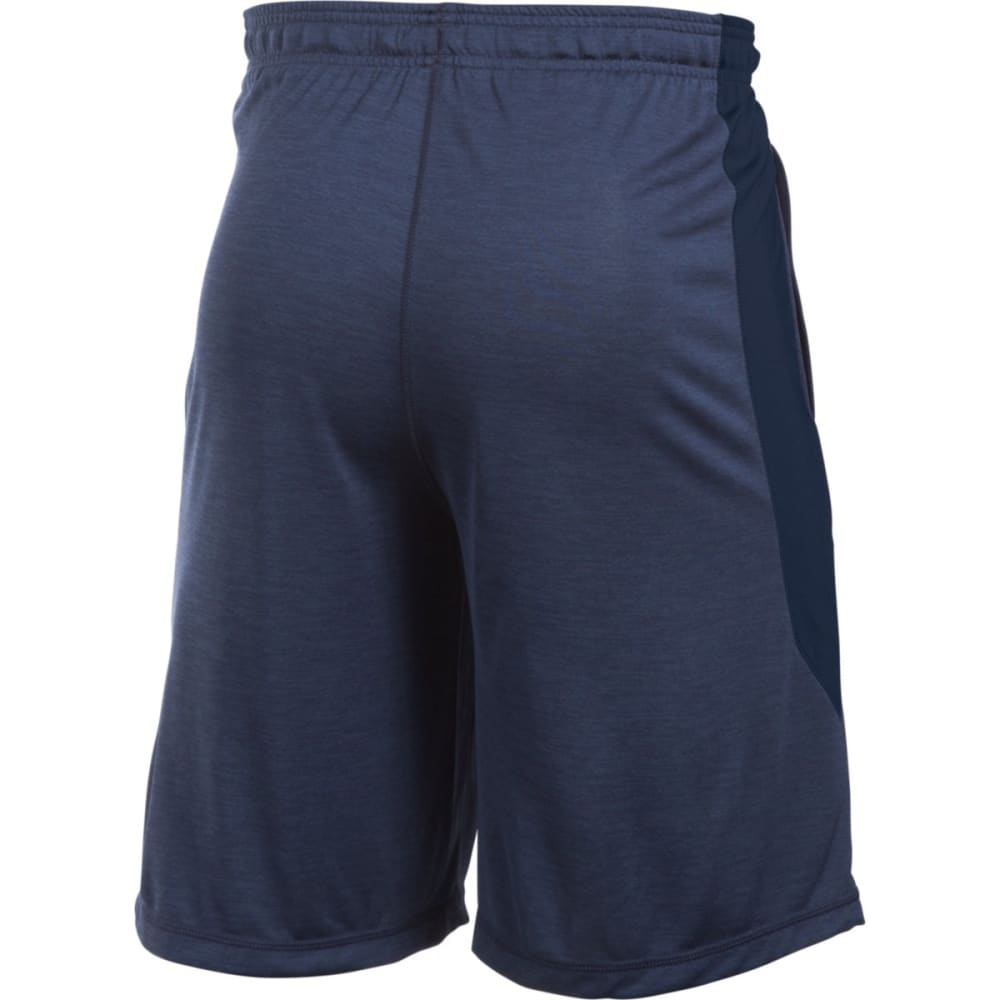 UNDER ARMOUR Men's Raid Printed Shorts - MIDNIGHT/STEEL-411