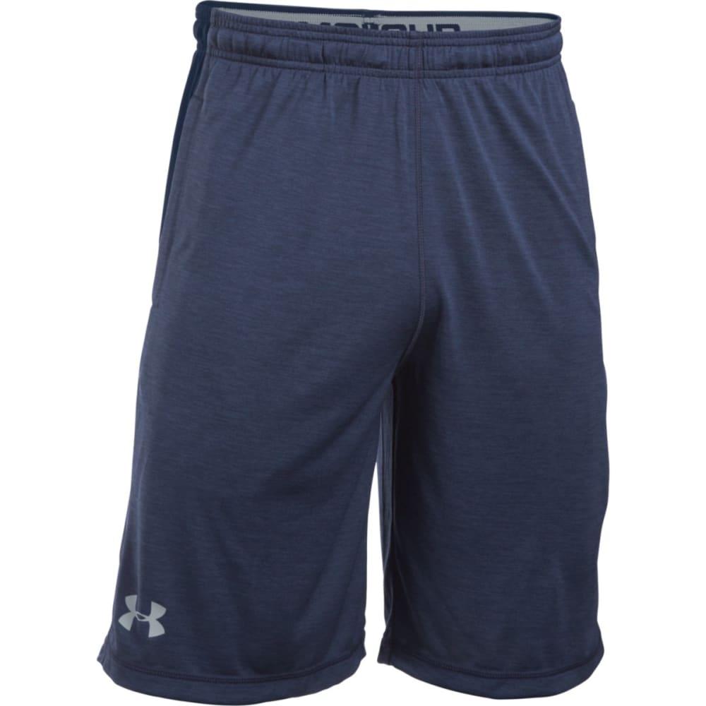 UNDER ARMOUR Men's Raid Printed Shorts - MIDNIGHT/STEEL-411