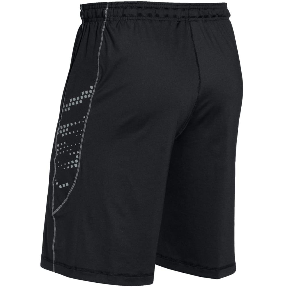 UNDER ARMOUR Men's HeatGear® Raid Graphic Shorts - BLACK-001