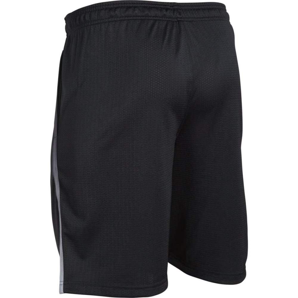 UNDER ARMOUR Men's Tech™ Mesh Shorts - BLACK/STEEL-003