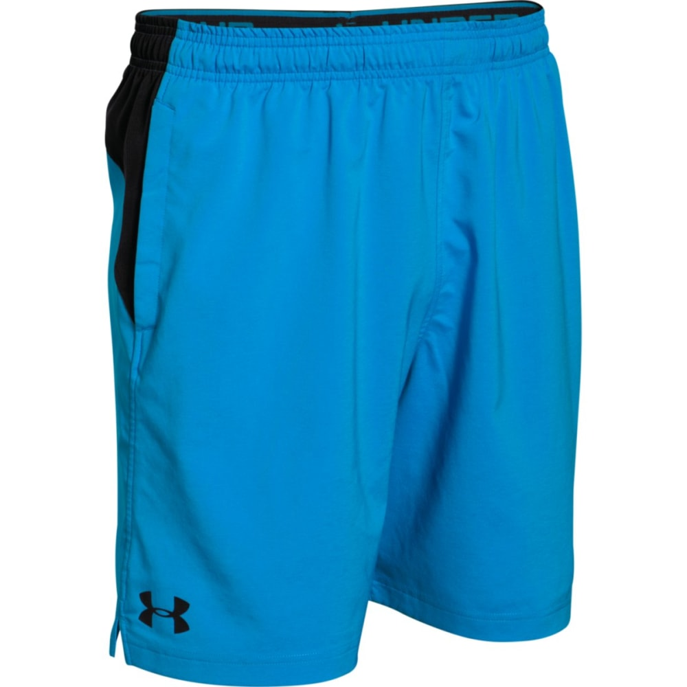 UNDER ARMOUR Men's HIIT Shorts - ELECTRIC BLUE-428