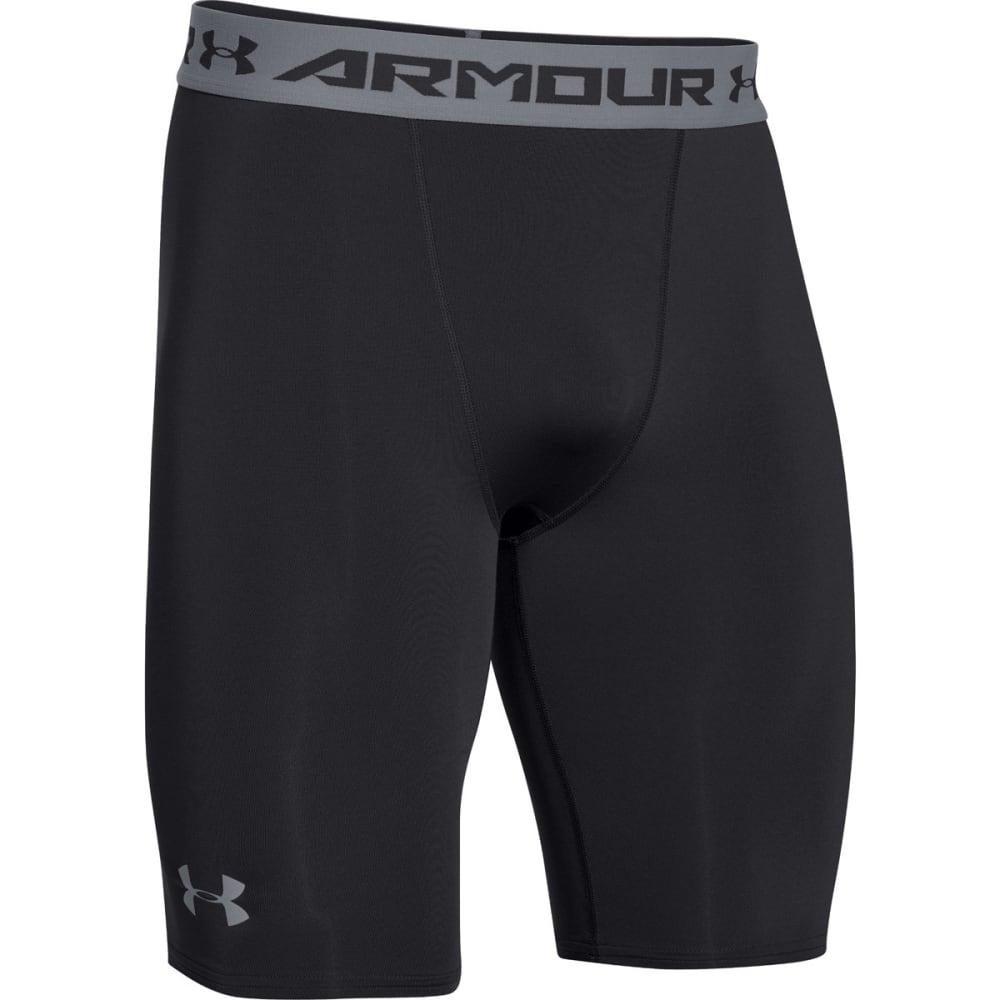 UNDER ARMOUR Men's HG Armour Compression Long Shorts - BLACK-001