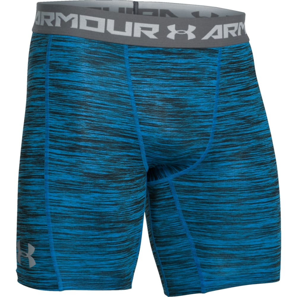 UNDER ARMOUR Men's CoolSwitch Compression Shorts - ELECTRIC BLUE-428