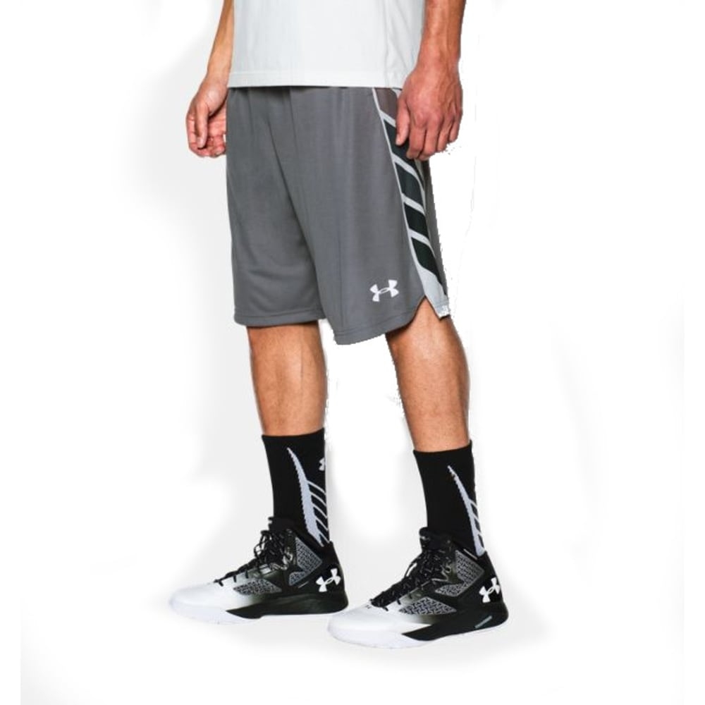 UNDER ARMOUR Men's Select Basketball Shorts - GRAPHITE-040