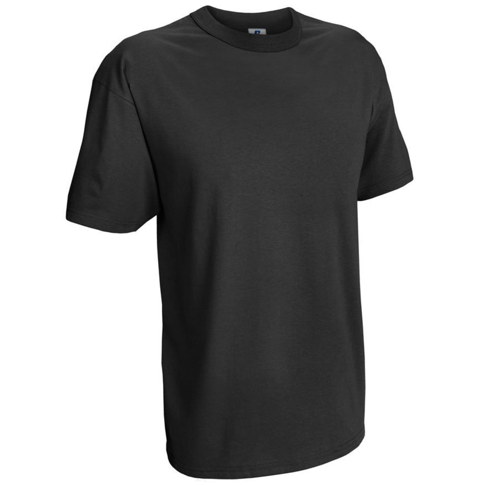 RUSSELL ATHLETIC Men's Basic Tee - BLACK-11