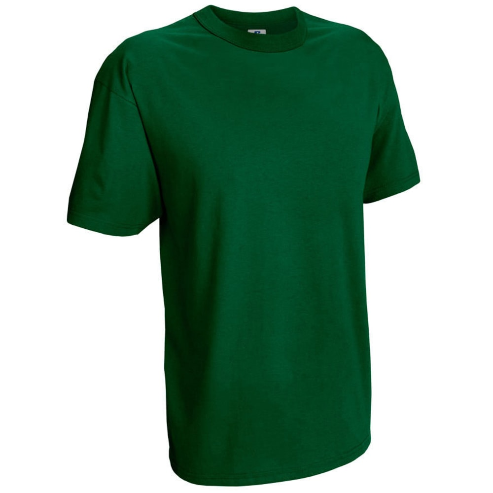 RUSSELL ATHLETIC Men's Basic Tee - DARK GREEN-16