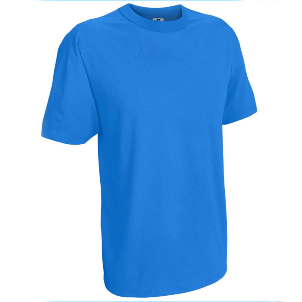 RUSSELL ATHLETIC Men's Fashion Tee - COLLEGE BLUE-LEG