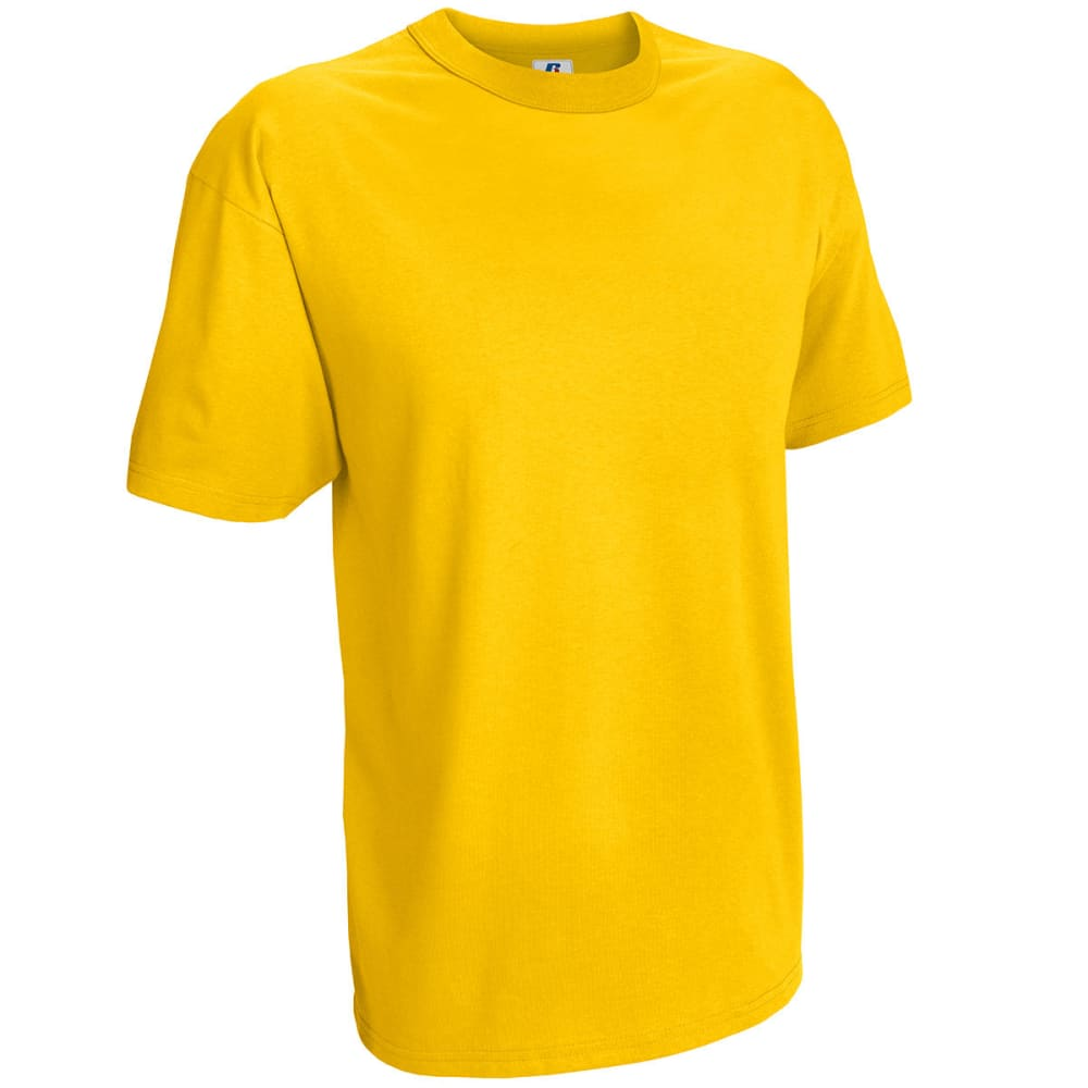 RUSSELL ATHLETIC Men's Fashion Tee - GOLD-17