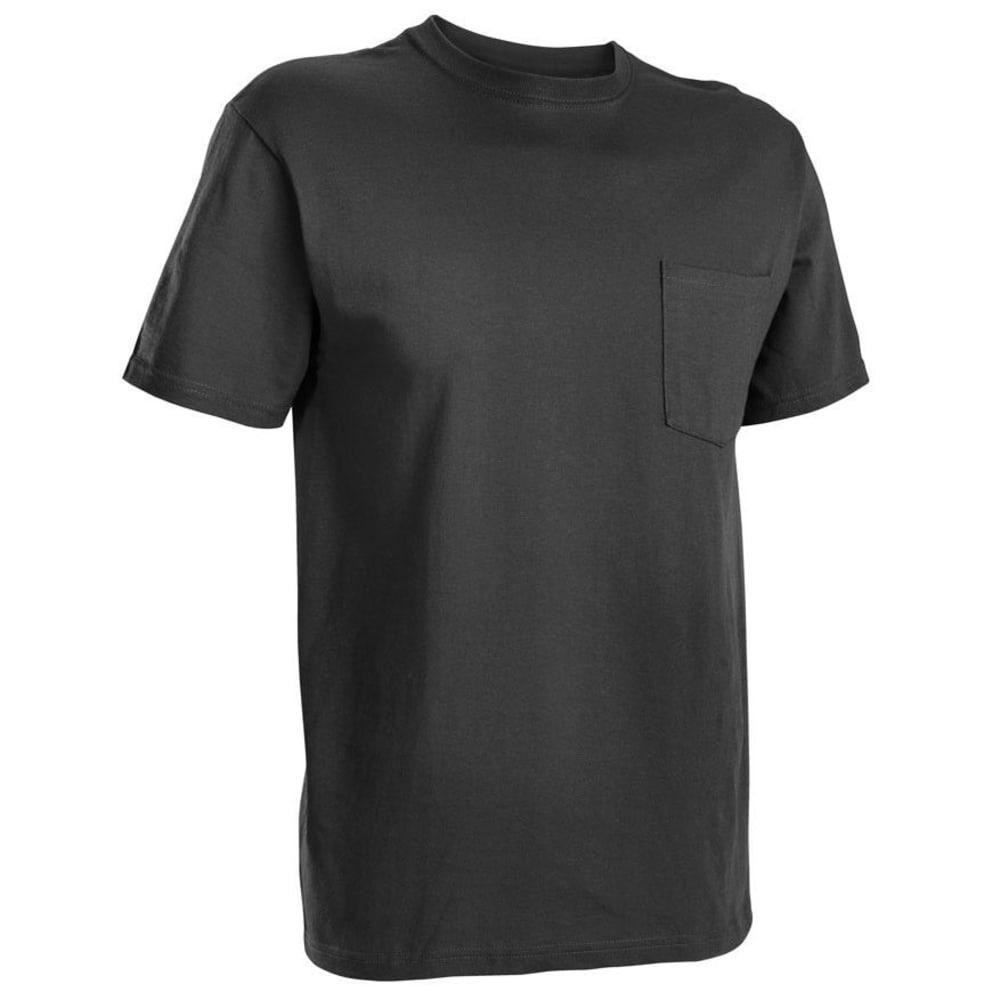 RUSSELL ATHLETIC Men's Basic Pocket Tee - BLACK-11