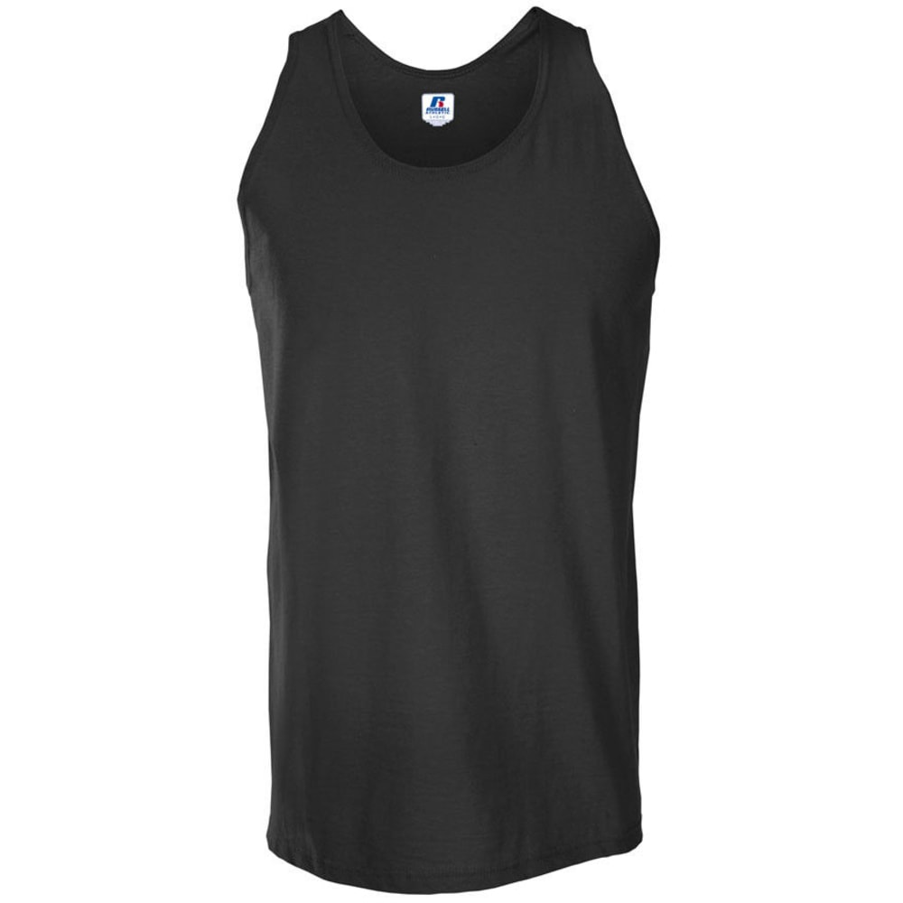 RUSSELL ATHLETIC Men's Tank - BLACK-11