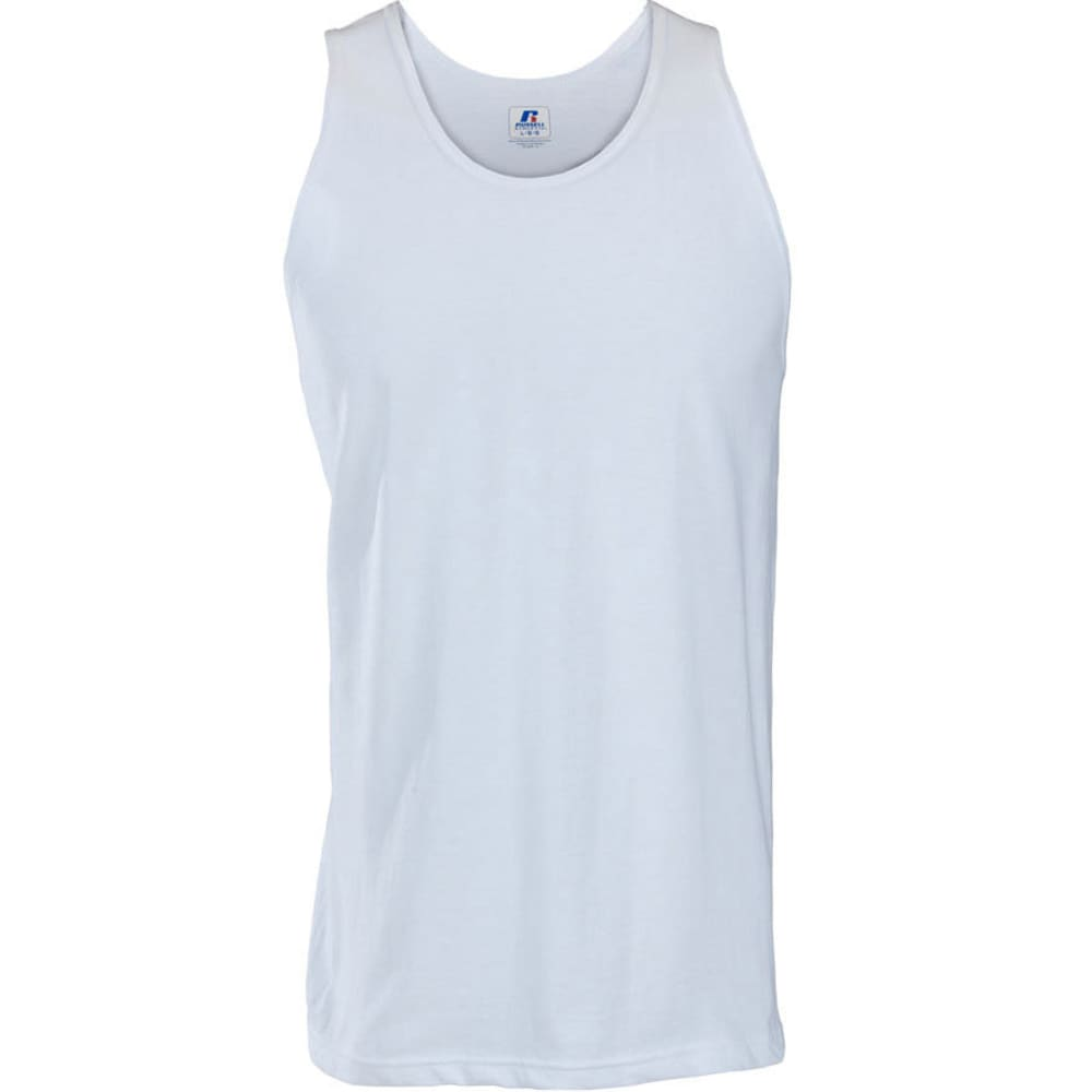RUSSELL ATHLETIC Men's Tank - WHITE-34