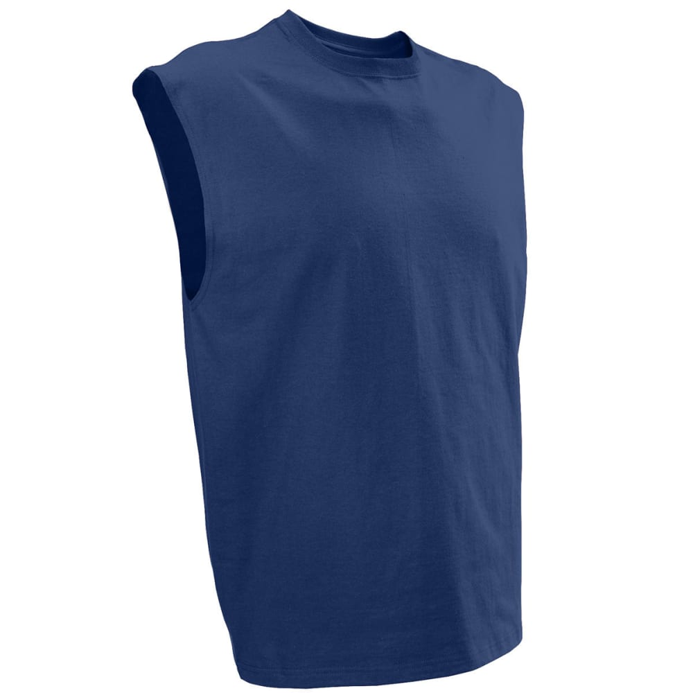 RUSSELL ATHLETIC Men's Sleeveless Tee - NAVY-YP1