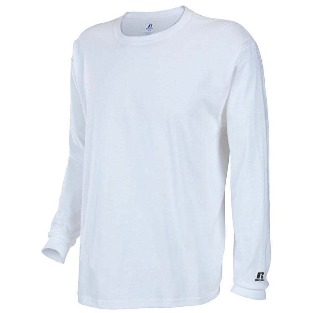 RUSSELL ATHLETIC Men's Basic Tee - WHITE-34