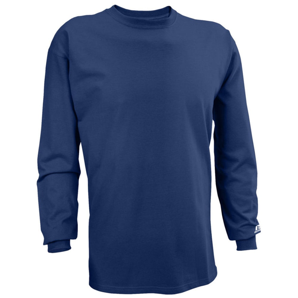 RUSSELL ATHLETIC Men's Basic Tee - NAVY-YP1