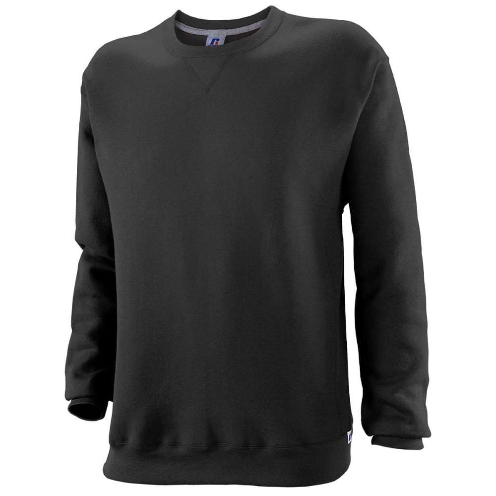 RUSSELL ATHLETIC Men's DriPower Fleece Crew - BLACK-BLK