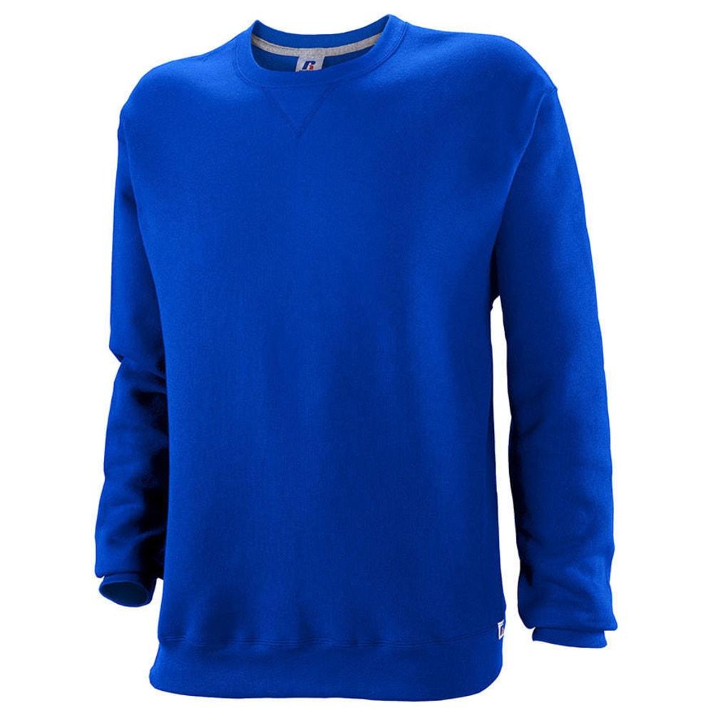 RUSSELL ATHLETIC Men's DriPower Fleece Crew - ROYAL BLUE-ROY