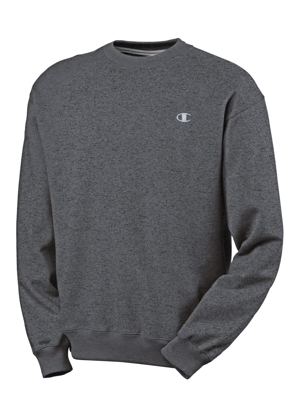 CHAMPION Men's Eco Fleece Crew Neck Sweatshirt - GRANITE HEATHER-G61