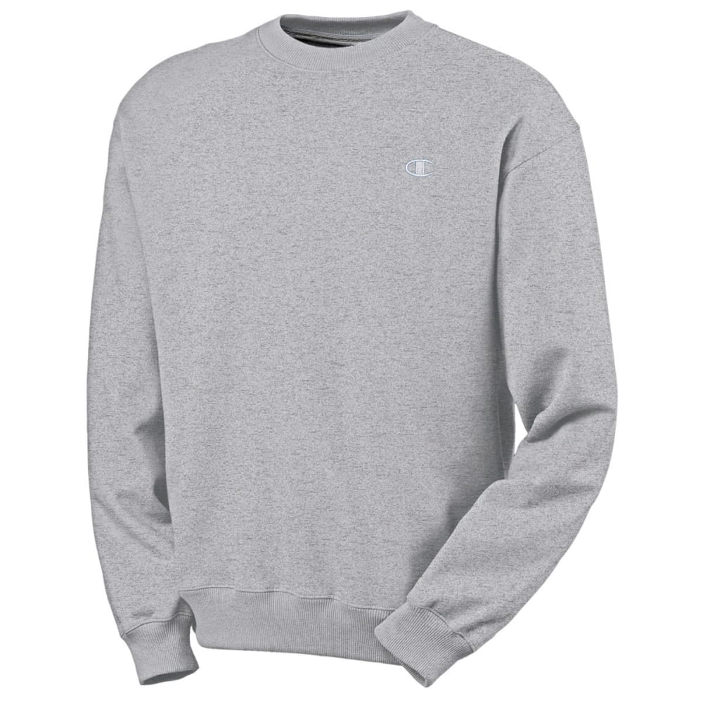 CHAMPION Men's Eco Fleece Crew Neck Sweatshirt - OXFORD-806