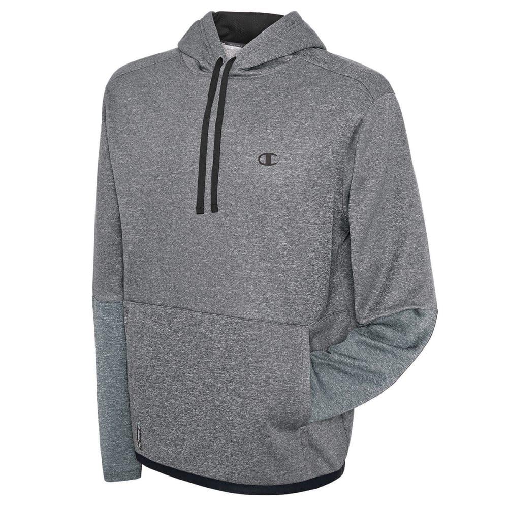 CHAMPION Men's Tech Fleece Pullover Hoodie - GRANITE HEATHER-M05