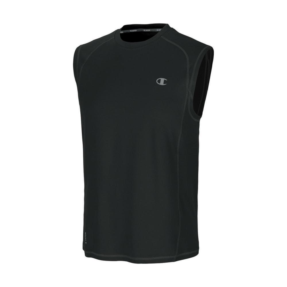 CHAMPION Men's Powertrain Muscle Tee - BLACK-003