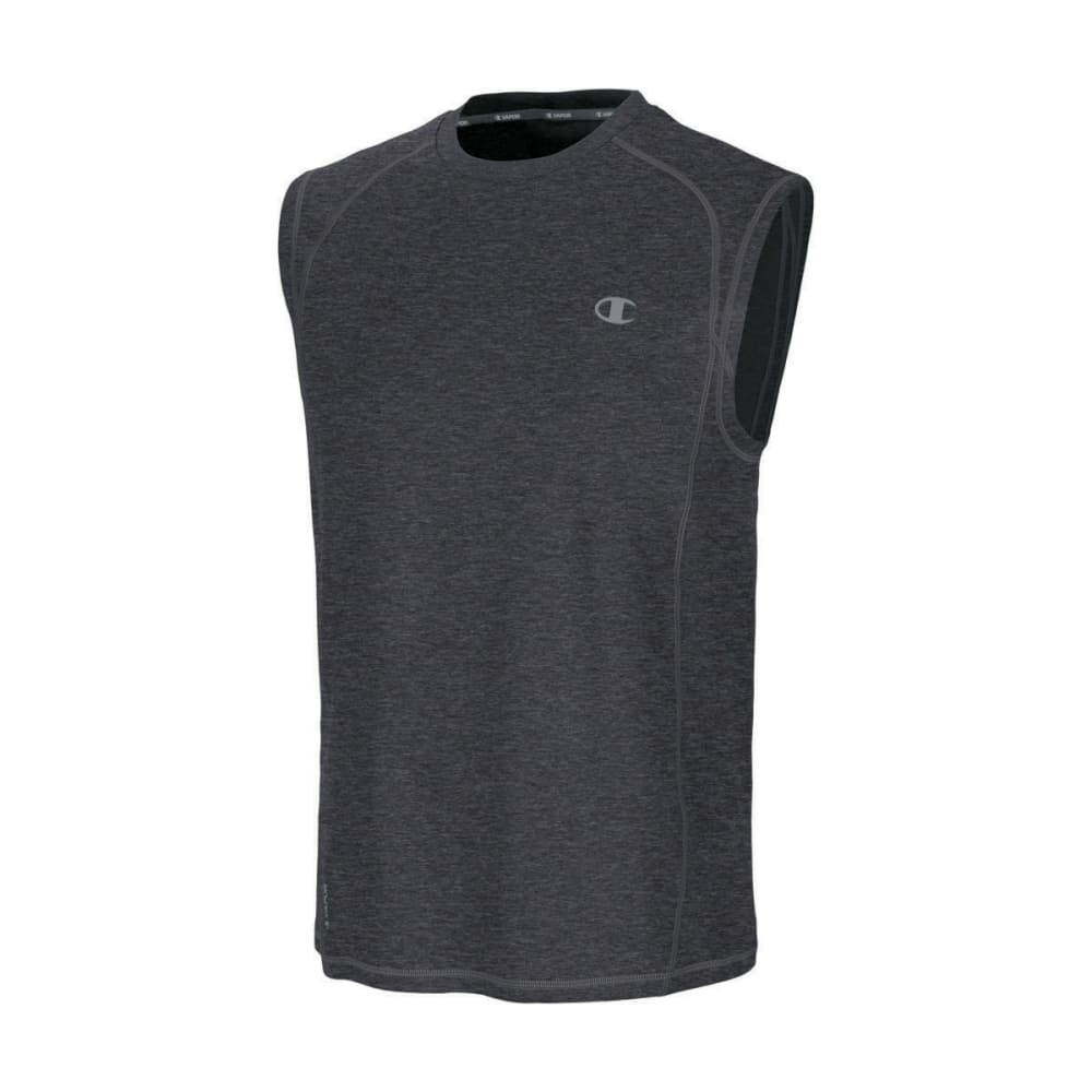 CHAMPION Men's Powertrain Muscle Tee - GRANITE HEATHER-G61