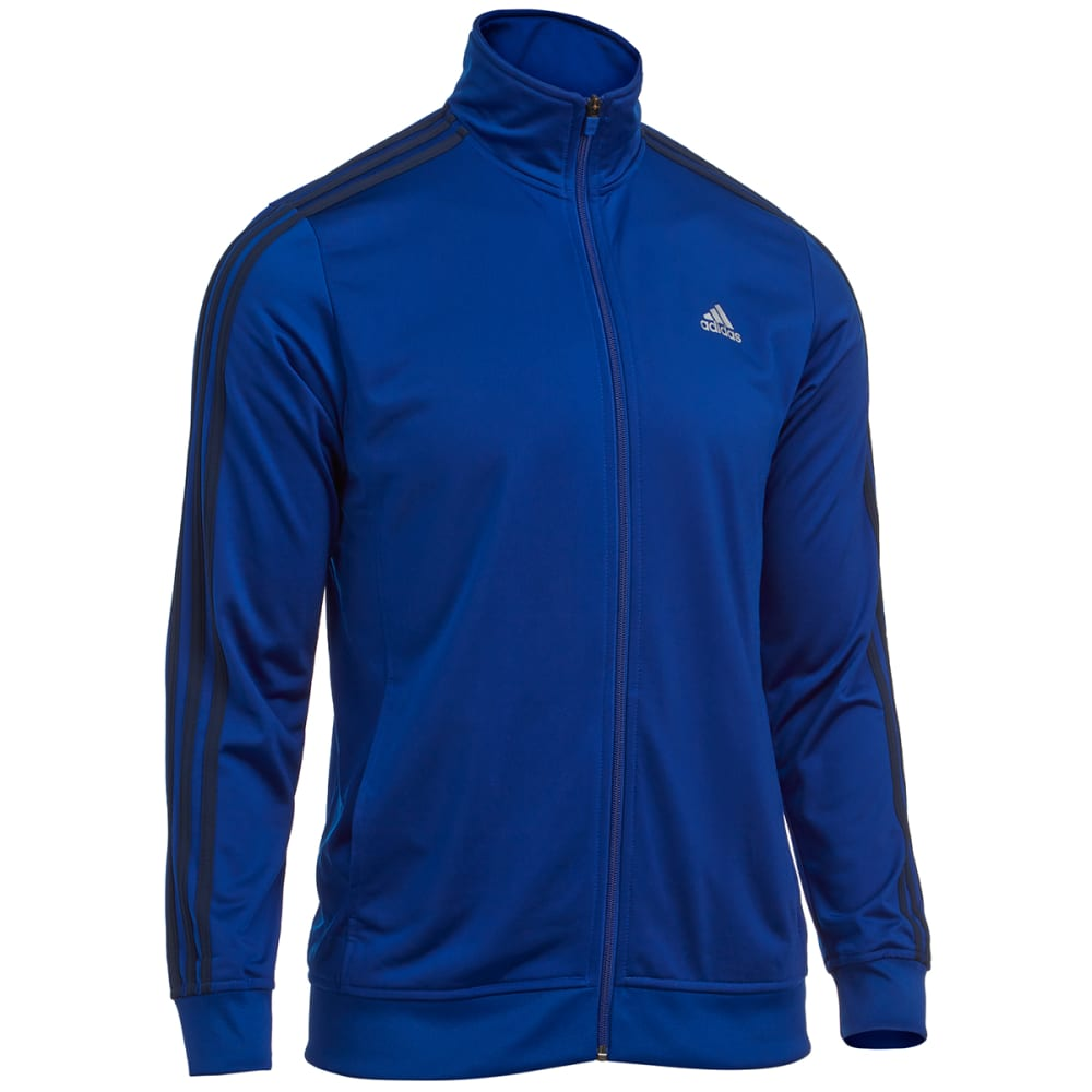 ADIDAS Men's Essential Tricot Track Jacket - ROYAL/NAVY-S90419