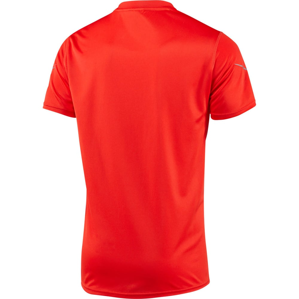 adidas Men's Sequencial Money Short Sleeve Tee - RED