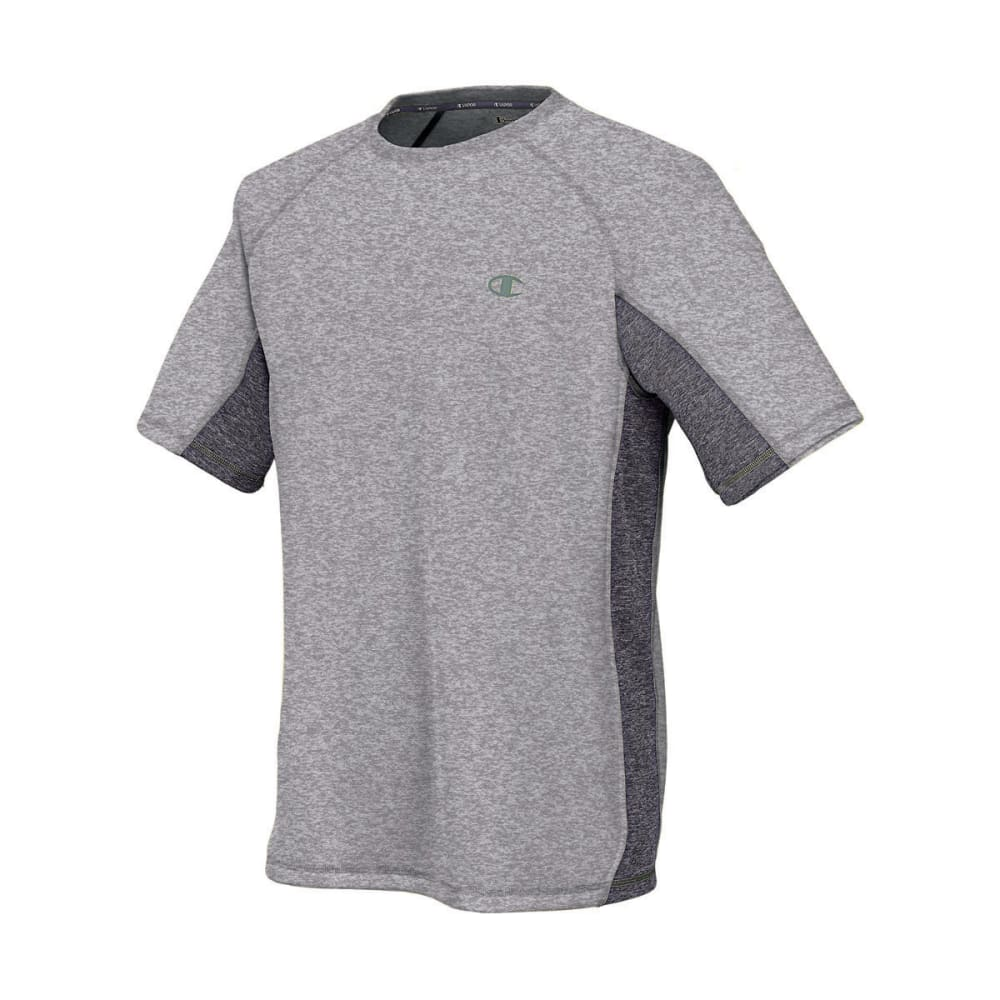CHAMPION Men's Powertrain Tee - OXFORD/GRANITE-38T