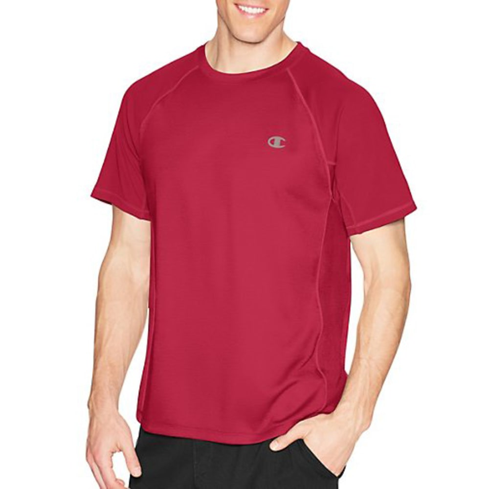 CHAMPION Men's Powertrain Tee - SCARLET-040