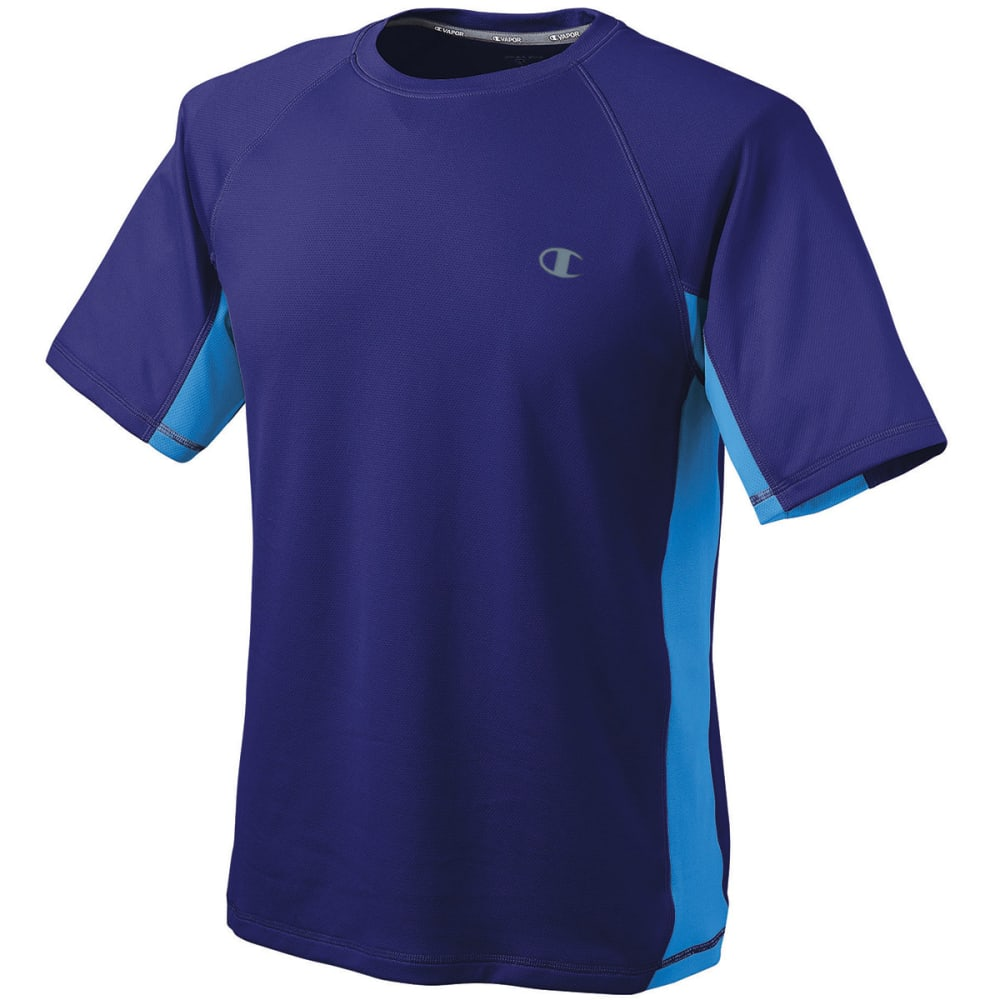 CHAMPION Men's Vapor® Powertrain Colorblock Tee - ULTRA MARINE