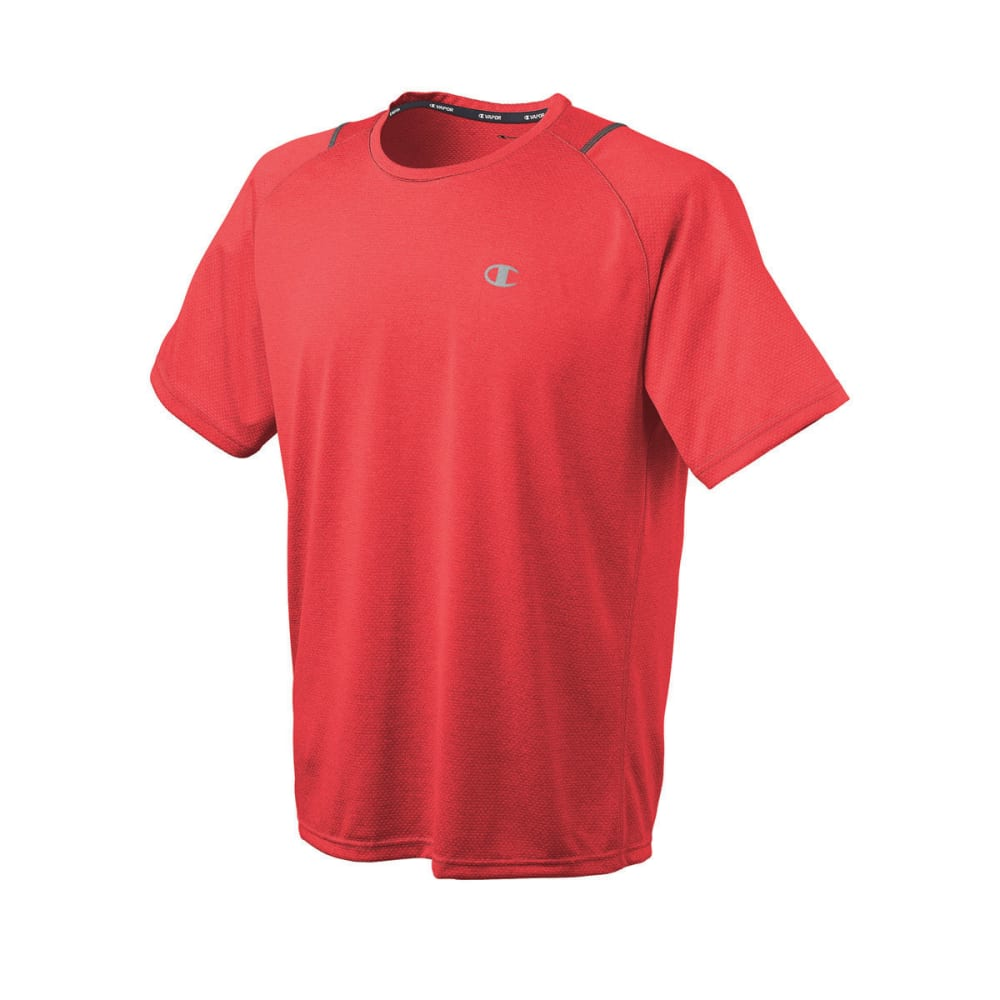 CHAMPION Men's Vapor® Heather Men's Tee - RED