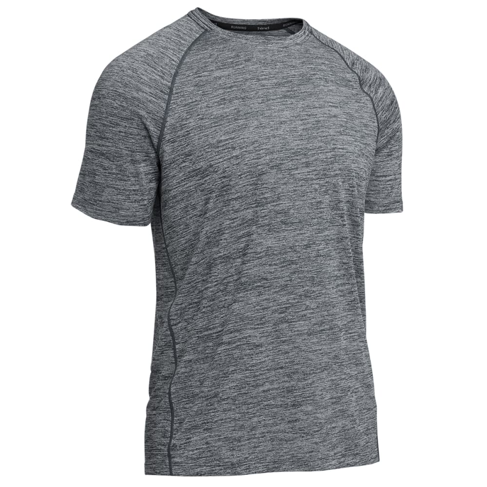 HIND Men's Heathered Tee - GREY