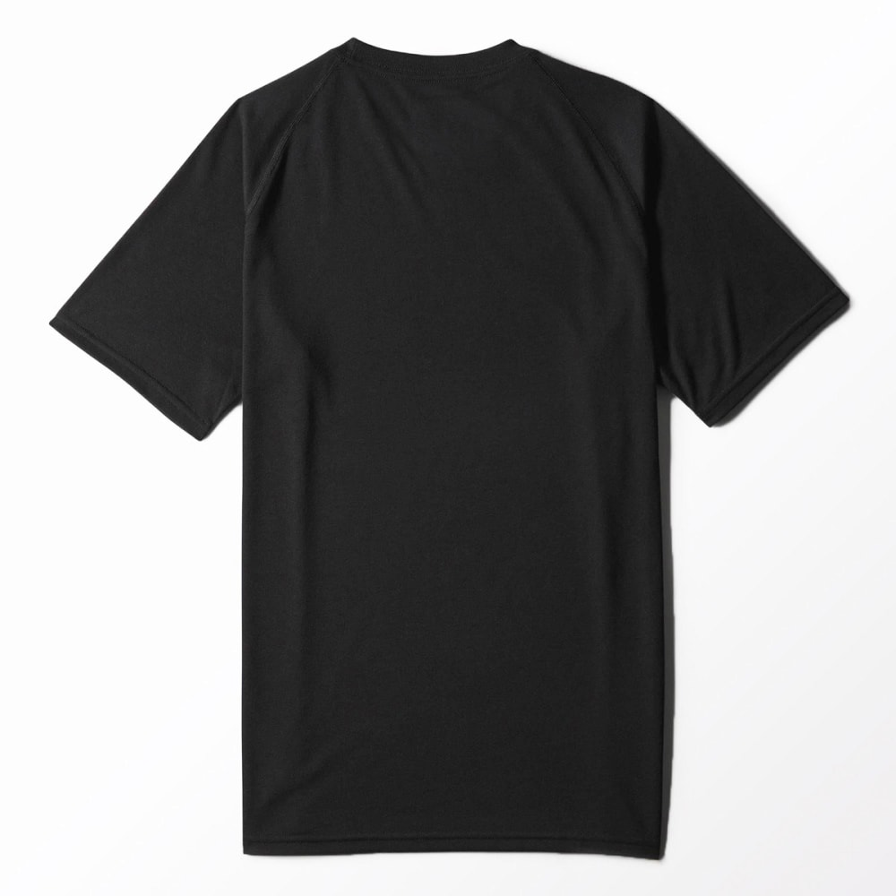 ADIDAS Men's Ultimate Crew Tee - BLACK/GREY-S14033
