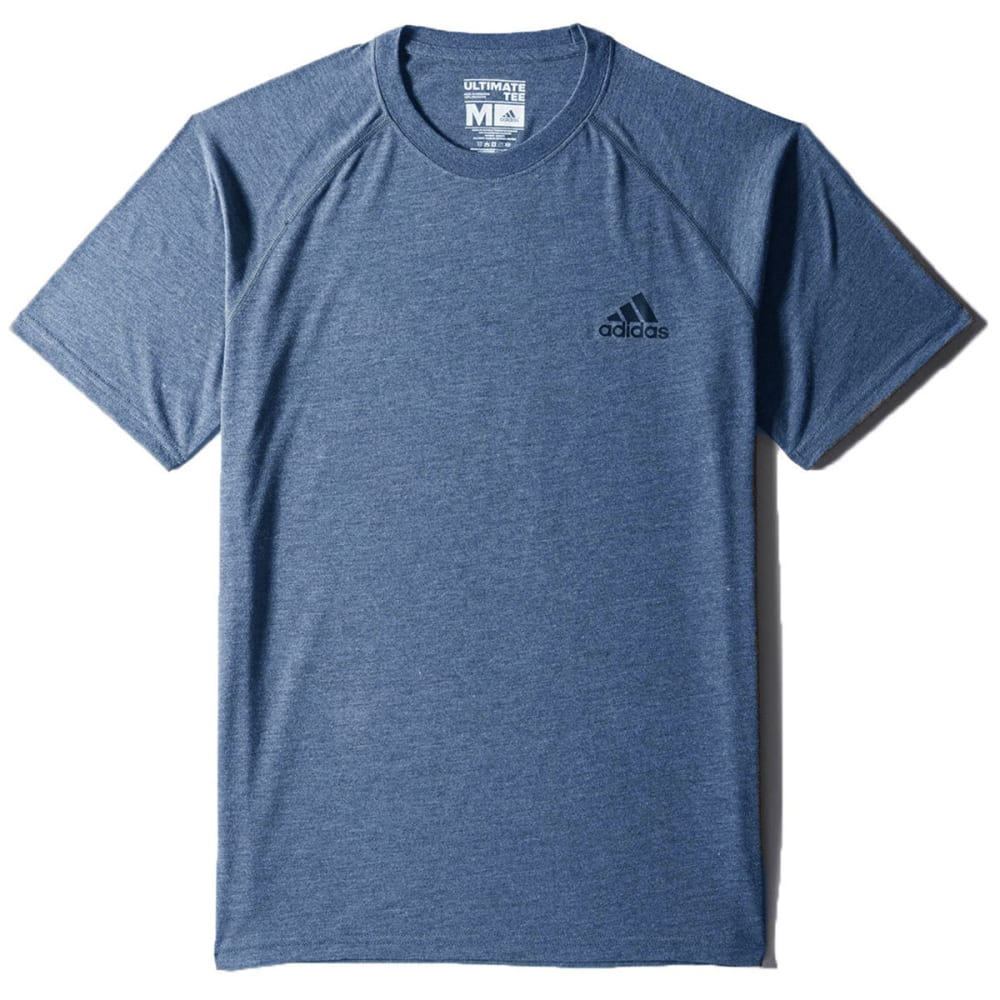 ADIDAS Men's Ultimate Crew Tee - MINERAL BLUE-AP9492