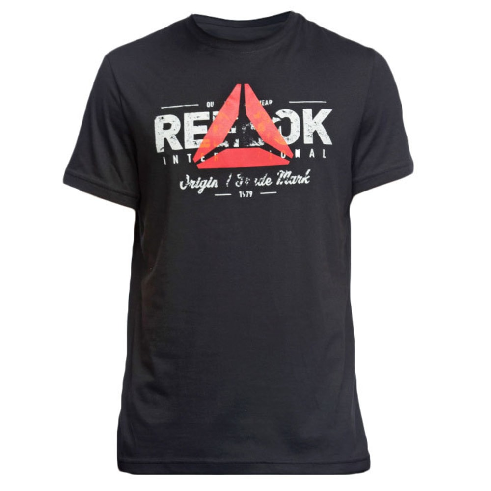 REEBOK Men's Original Tee - BLACK
