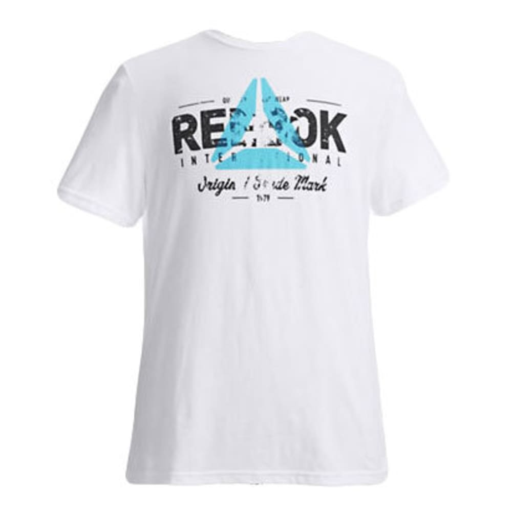 REEBOK Men's Original Tee - WHITE