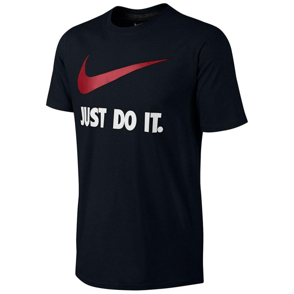 NIKE Men's Sportswear Just Do It Swoosh T-Shirt L