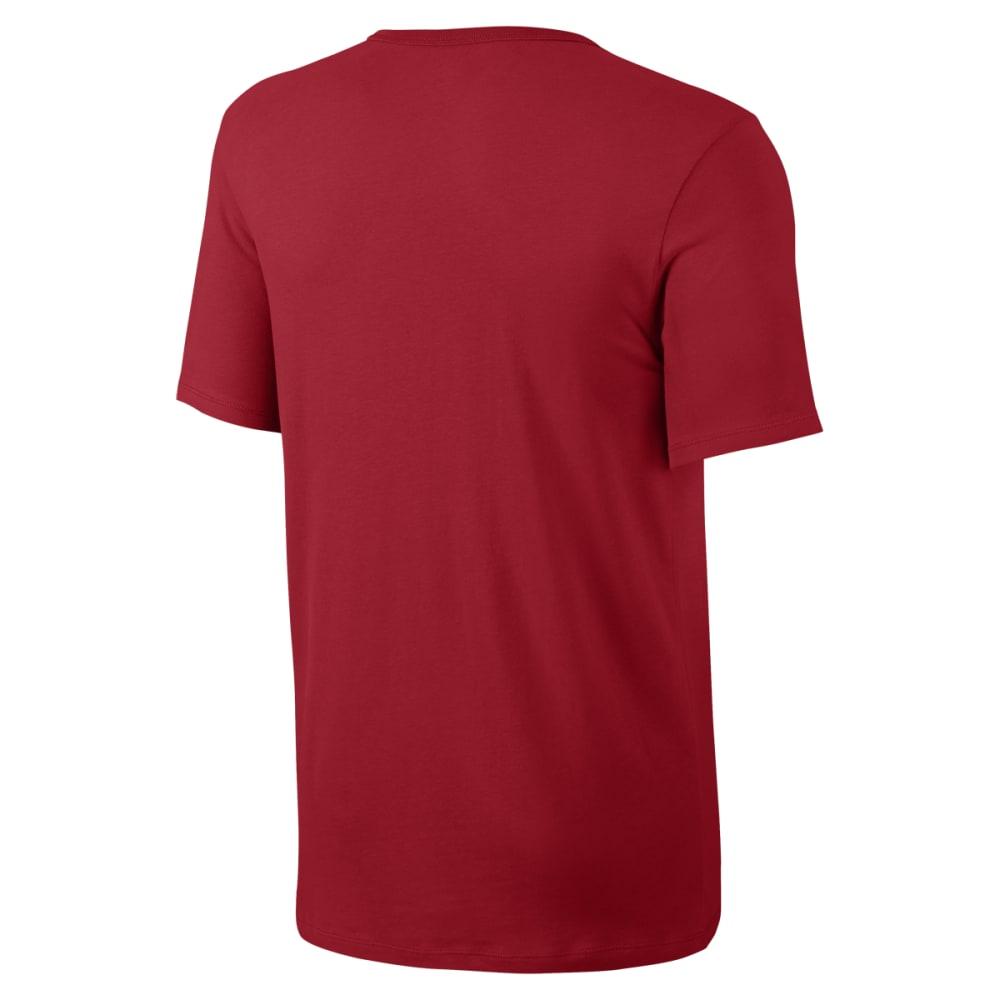 NIKE Men's Futura Icon Short Sleeve Tee - UNIVERSITY RED-659